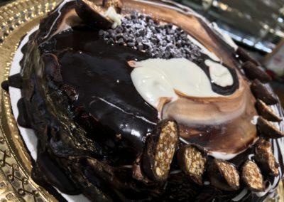 Torta Semifredda al cioccolato