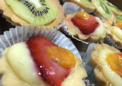 Pasticcini con Frutta Sassari
