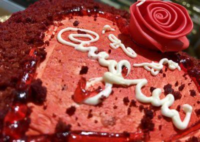Torta San Valentino Sassari