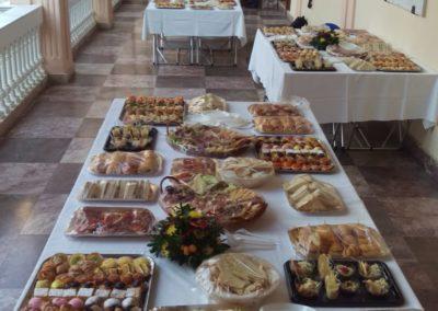 Tavoli imbanditi servizio catering sassari