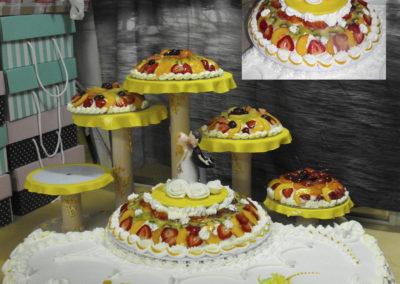 Torte Nuziali alla frutta