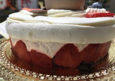 Torta semifreddi Fragole