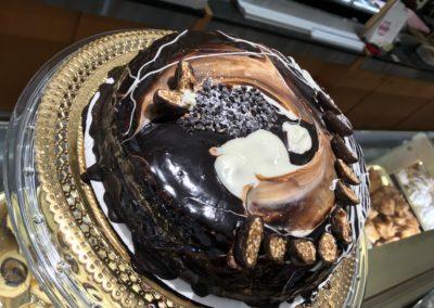 Torte semifreddi al cioccolato
