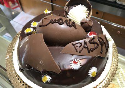 Torta al Cioccolato Pasqua Sassari