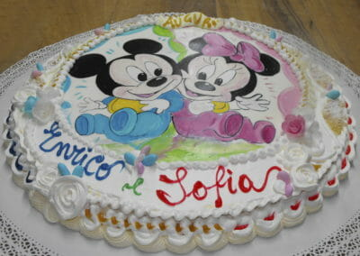 Torta per festa compleanno